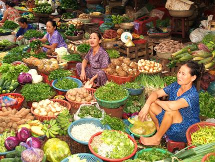 Khoai tây nghi nhiễm độc vẫn ngập chợ 1