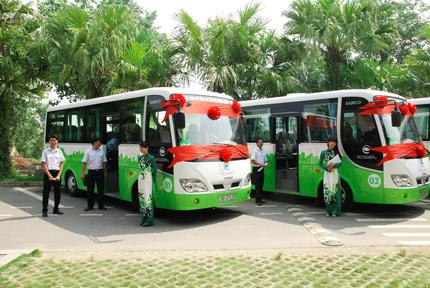 Cư dân Ecopark có xe bus miễn phí chất lượng cao 2