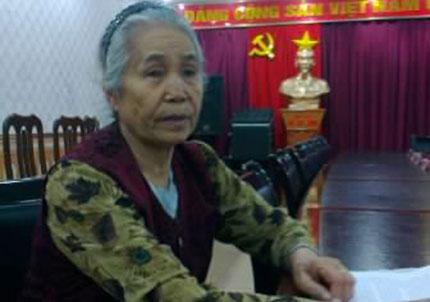 Đắng lòng cụ bà 71 tuổi bị con trai kiện ra tòa 1