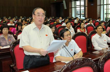 Kỳ họp thứ 5, Quốc hội khóa XIII: Còn băn khoăn về Luật Đất đai 1