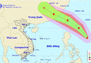Bão áp sát biển Đông, miền Bắc mưa lớn