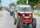 Sôi động giải đua ô tô địa hình Hạ Long Challenge 2012