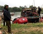 Hải Dương: Nửa đêm xe ô tô lao xuống sông, 1 người chết thảm