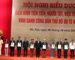 Hà Nội vinh danh 10 công dân ưu tú và biểu dương 790 gương điển hình tiên tiến, người tốt, việc tốt
