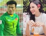 Angela Phương Trinh chỉ coi thủ môn Bùi Tiến Dũng là anh trai mưa