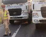 Tài xế xe tải cướp giấy tờ, dàn hàng ngang trên quốc lộ chống đối CSGT
