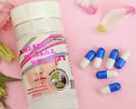 Viên nang Amlux Facial Beaty của Công ty Obiuty Việt Nam được quảng cáo như thuốc chữa bệnh