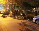 Hà Nội: Nữ tài xế lái Lexus gây tai nạn liên hoàn, tông cả vào xe CSGT