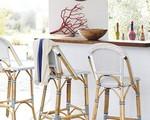 15 mẫu ghế thanh thoát tiết kiệm không gian cho mọi căn bếp