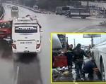 Tài xế xe khách đâm xe cứu hỏa khiến một cảnh sát tử vong có bị xử lý hình sự?