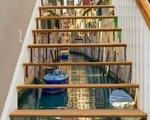 12 thiết kế cầu thang 3D khiến khách đến nhà 'không thể rời mắt' vì quá độc và đẹp