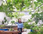 Choáng ngợp với khu vườn 100m² phủ kín rau quả sạch của bà mẹ bận rộn