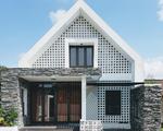 Ngôi nhà hình chữ A tuyệt đẹp với chi phí 800 triệu đồng của kiến trúc sư Quảng Bình