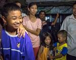 Lợn hoang được giải cứu thành công: Người dân Thái vui mừng như Tết