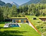 Ngôi nhà tuyệt đẹp được ngụy trang dưới tấm thảm cỏ xanh mướt