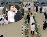Đàm Vĩnh Hưng hớ hênh làm lộ ngày cưới của Trường Giang - Nhã Phương