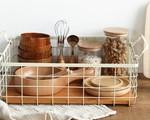 Những đồ dùng bằng gỗ nhỏ xinh mang sức sống cho căn bếp