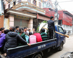 Người thân đau đớn tiễn đưa bé gái tử vong trong vụ nổ kinh hoàng ở Bắc Ninh