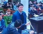 Hình ảnh ông Đinh La Thăng, Trịnh Xuân Thanh trong ngày đầu hầu tòa