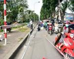 Hà Nội: Cận cảnh công trường xén vỉa hè, hạ cây xanh mở rộng đường Láng chi phi 64 tỷ đồng