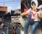 Sập nhà 4 tầng giữa ban ngày ngay tại thủ đô khiến người dân hốt hoảng
