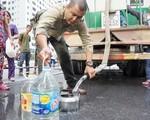 Nước cấp miễn phí cho cư dân HH Linh Đàm bị phản ánh có mùi hôi tanh