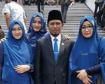 Nghị sĩ Indonesia có 3 vợ nói 'đa thê có thể thực hiện một cách hài hòa và tốt đẹp'
