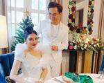 MC Đại Nghĩa tung ảnh 'cô dâu chú rể', Lý Nhã Kỳ lên tiếng giải thích