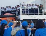 Xúc động lễ xuất quân làm nhiệm vụ tại quần đảo Trường Sa