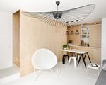 Ngôi nhà nhỏ 35m2 vẫn cực kì phong cách và tiện dụng nhờ nội thất gỗ