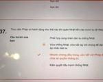 Hà Nội chỉnh sửa sai sót đề ôn tập Lịch sử trực tuyến kỳ thi vào lớp 10