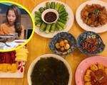 MC VTV Diệp Chi khoe mâm cơm ngày nghỉ lễ khiến con gái 'chén' liền... 3 bát cơm