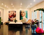 Ngôi nhà 900 m2 gây ấn tượng mạnh ngay từ bước chân đầu tiên vào cửa của nữ diễn viên phim Gái nhảy