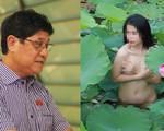 ĐBQH nói gì về việc nữ diễn viên không tên tuổi chụp ảnh khỏa thân lố bịch bên hồ sen