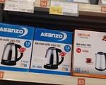 Siêu thị BigC Thăng Long vẫn bày bán sản phẩm mang nhãn hiệu Asanzo