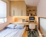 Căn hộ chỉ 50m² được bố trí sáng tạo, tiện nghi ngỡ như rộng 120m²