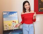 Không gian sống độc đáo tạo hứng thú cho niềm đam mê hội họa của người yêu cũ diễn viên Huỳnh Anh