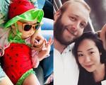 Con gái Hoa hậu Ngô Phương Lan: 6 tháng tuổi đã biết bơi và lần đầu lộ diện