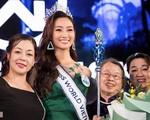 Gia đình mẫu mực, bố mẹ thành đạt của tân Hoa hậu Thế giới Việt Nam Lương Thùy Linh