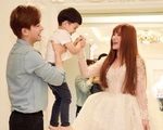 """Con bị chồng mới cấu véo trên sóng livestream, Thu Thủy nói: """"Tôi sẽ bảo vệ con trai nếu chồng đánh đập bé tàn bạo"""""""