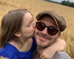 Hình ảnh ngọt ngào giữa công chúa Happer và bố David Beckham khiến hàng nghìn trái tim tan chảy