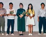 Việt Trinh đăng ảnh chụp với Lý Hùng gần 30 năm trước