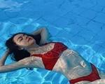 Lần hiếm hoi Phạm Quỳnh Anh đăng ảnh mặc bikini