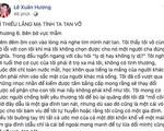 """NS Xuân Hương tung bằng chứng, kể chuyện chồng cũ nhớ nhung """"thằng vợ"""" rồi cải thiện bằng cách gọi người đấm bóp về nhà"""