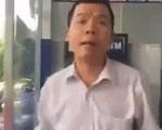 Kẻ côn đồ đánh người nhắc nhở xếp hàng ở cây ATM trình diện công an