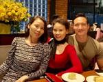 Kim Lý mừng sinh nhật mẹ Hồ Ngọc Hà