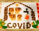 Nói với con về cách phòng dịch COVID-19 bằng những món ăn