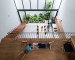 """Ngôi nhà """"ruộng bậc thang"""" trong hẻm ở Bình Định"""