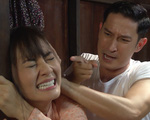Luật trời tập 5: 'Làm gái không xong', Ngọc Lan bị chồng đánh đập tàn nhẫn trước mặt tình địch