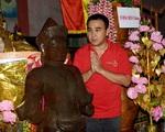 Tượng Phật bất ngờ xuất hiện trên đất của MC Quyền Linh